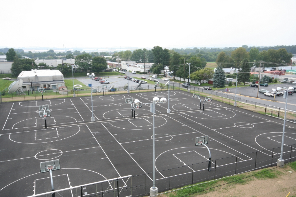 Superieur Outdoor Basketball Courts